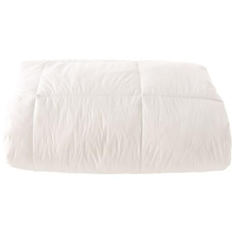 Image of Alpine Loft Down Alternative White Comforter - Full