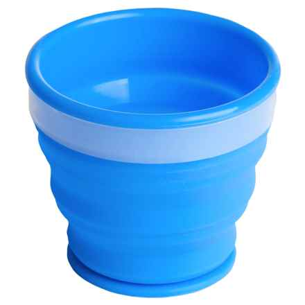 Alpine Mountain Gear Collapsible Silicone Cup - 6.75 fl.oz. in Blue - Closeouts