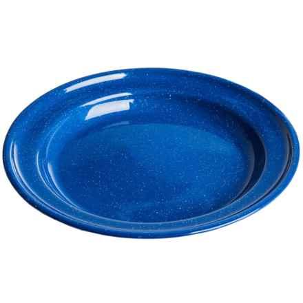 """Alpine Mountain Gear Enamel Plate - 10"""" in Blue - Closeouts"""