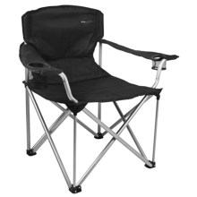 Alpine Mountain Gear Mega Camp Chair in Black - Overstock