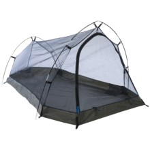 Alpine Mountain Gear Solo Plus Alaskan Tent - 1-Person, 3-Season in Blue - Overstock