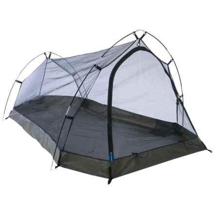 Alpine Mountain Gear Solo Plus Alaskan Tent - 1-Person, 3-Season in Blue - Overstock