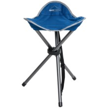 Alpine Mountain Gear Tripod Camp Stool in Blue - Overstock