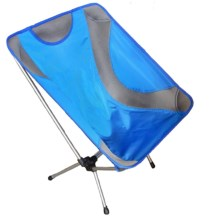 Alpine Mountain Gear Ultralight Packable Chair in Blue - Overstock