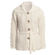 ALPS Anniker Cardigan Sweater (For Women) in Aran - Closeouts