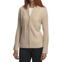 ALPS Ashley Falls Cardigan Sweater (For Women) in Linen - Closeouts