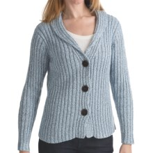 ALPS Briana Cardigan Sweater - Shawl Collar (For Women) in Cloudy Blue - Closeouts