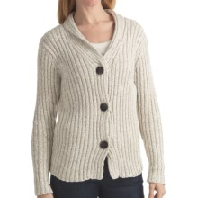 ALPS Briana Cardigan Sweater - Shawl Collar (For Women) in Jute - Closeouts