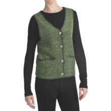 ALPS Cascades Highlands Fleece Vest (For Women) in Fern - Closeouts
