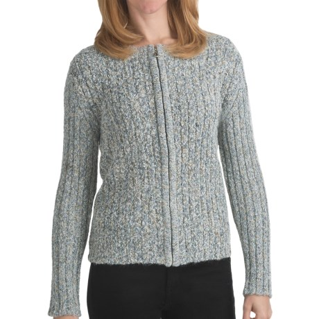 ALPS Cedar Brook Cardigan Sweater (For Women) in Moonbeam