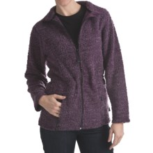 ALPS Cold Springs Highland Fleece Jacket - Wool Blend (For Women) in Elderberry - Closeouts
