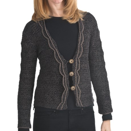 ALPS Desert Moon Cardigan Sweater - Button (For Women) in Sagebrush