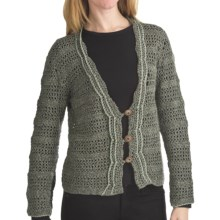ALPS Desert Moon Cardigan Sweater - Button (For Women) in Sagebrush - Closeouts