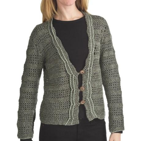 ALPS Desert Moon Cardigan Sweater - Button (For Women) in Sagebrush