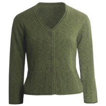 ALPS Jayna Cardigan Sweater (For Women) in Loden - Closeouts