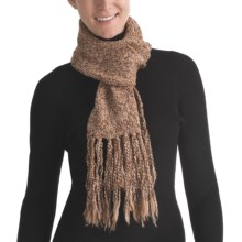 ALPS Jezebel Fringed Scarf (For Women) in Toffee - Closeouts