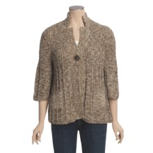 ALPS Karissa Cardigan Sweater - 3/4 Sleeve (For Women) in Hazelnut - Closeouts