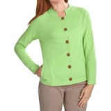 ALPS Kristen Cardigan Sweater - Cotton (For Women)