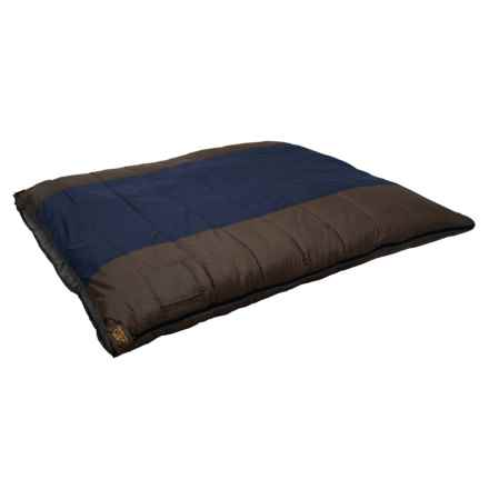 ALPS Mountaineering 20°F Sleeping Bag - Double Wide, Rectangle in Blue/Clay - Closeouts
