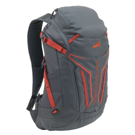 ALPS Mountaineering Baja Backpack - 20L in Charcoal/Chili
