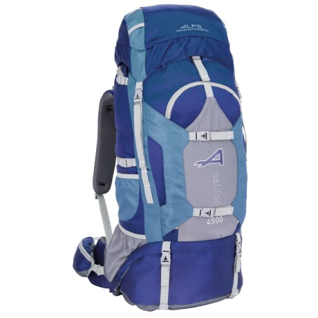 ALPS Mountaineering Caldera 4500 Backpack - 74L,  Internal Frame in Blue
