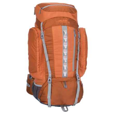 ALPS Mountaineering Cascade 4200 Backpack - Internal Frame in Rust - Closeouts