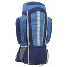 ALPS Mountaineering Cascade 5200 Backpack - Internal Frame in Blue - Closeouts