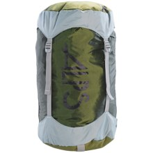 ALPS Mountaineering Compression Stuff Sack - Large in Green/Grey - Closeouts