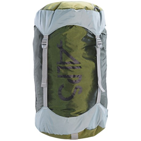 ALPS Mountaineering Compression Stuff Sack - Large in Green/Grey