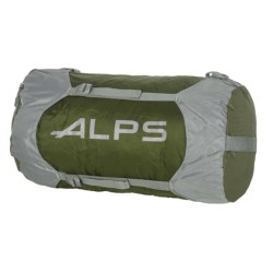ALPS Mountaineering Compression Stuff Sack - Large in Olive/Grey/Grey Logo