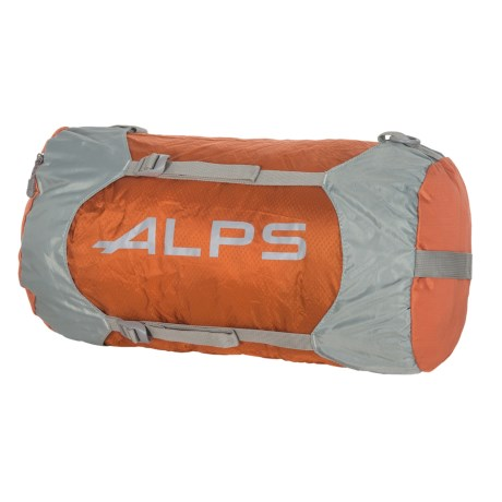 ALPS Mountaineering Compression Stuff Sack - Medium in Rust/Grey