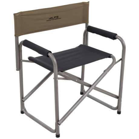 ALPS Mountaineering Director's Chair in Khaki/Coal