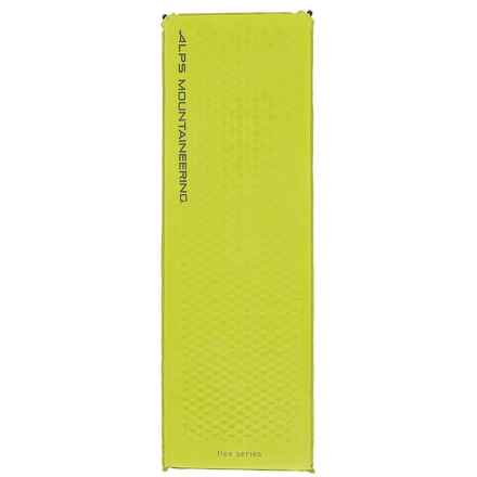 ALPS Mountaineering Flex Cored Foam Air Sleeping Pad - Long, Self-Inflating in Citrus - Closeouts