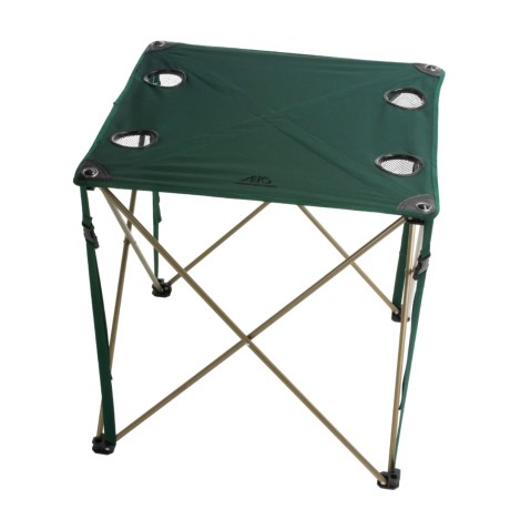 ALPS Mountaineering Folding Chip Table in Green