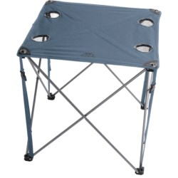 ALPS Mountaineering Folding Chip Table in Steel Blue