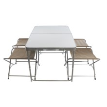 ALPS Mountaineering Folding Table and Chairs - 4-Pack in See Photo - Closeouts