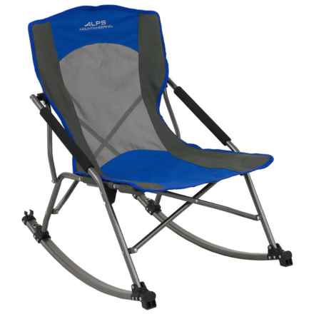 ALPS Mountaineering Low Rocking Camp Chair in Blue - Closeouts