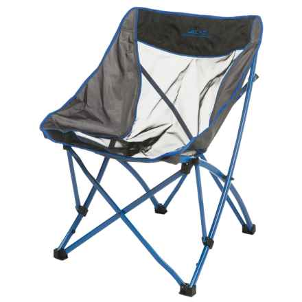 ALPS Mountaineering Mountaineering Acadia Camp Chair in Blue/Grey - Closeouts