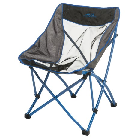 ALPS Mountaineering Mountaineering Acadia Camp Chair in Blue/Grey