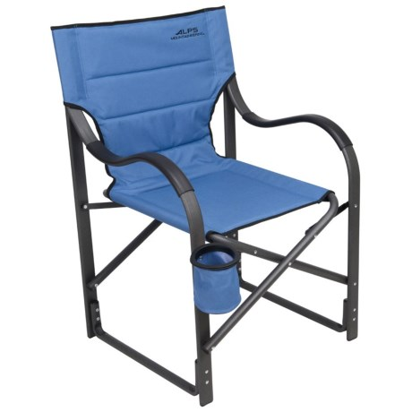 ALPS Mountaineering Mountaineering Camp Chair in Steel Blue