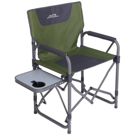 ALPS Mountaineering Mountaineering Flipside Chair in Dark Green / Grey / Black