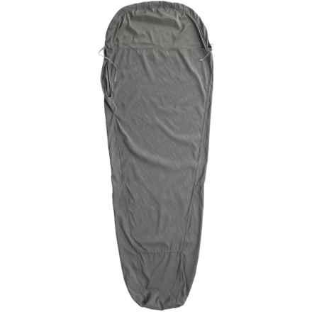 ALPS Mountaineering Mummy Sleeping Bag Liner - Microfiber in Grey - Closeouts