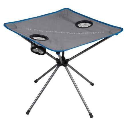 ALPS Mountaineering Ready Lite Camp Table in Gray/Blue - Closeouts
