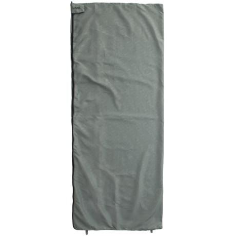 ALPS Mountaineering Rectangle Sleeping Bag Liner - Microfiber in Grey