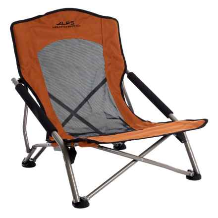 ALPS Mountaineering Rendezvous Folding Chair in Rust - Closeouts