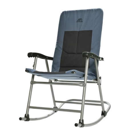 ALPS Mountaineering Rocking Chair in Blue/Charcoal