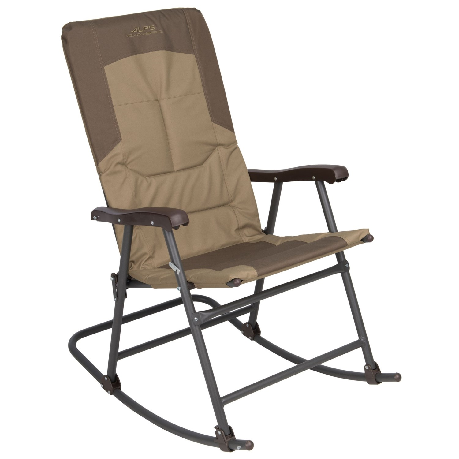 ALPS Mountaineering Rocking Chair In Khaki/Brown ...