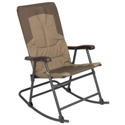 ALPS Mountaineering Rocking Chair in Khaki/Brown - Closeouts