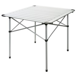 ALPS Mountaineering Roll-Up Camp Table - Aluminum in Silver