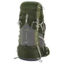 ALPS Mountaineering Shasta 4200 Backpack - Internal Frame in Green - Closeouts